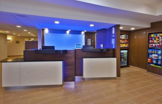 Hall de l'hôtel Fairfield Inn & Suites Herndon Reston