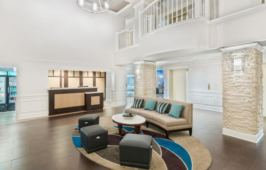 Lobby Homewood Suites by Hilton Raleigh-Durham Aprt * RTP