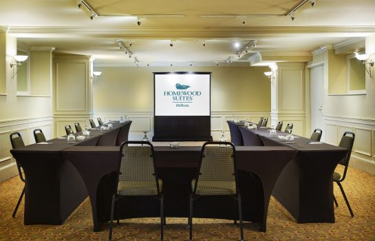 Conference room Homewood Suites by Hilton Raleigh-Durham Aprt * RTP