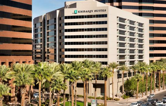 Buitenaanzicht Embassy Suites by Hilton Phoenix Downtown North