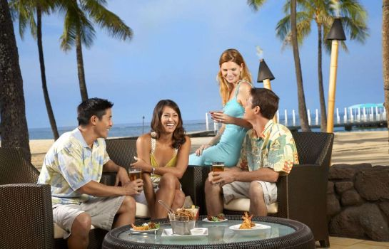 Hotel bar Hilton Hawaiian Village Waikiki Beach Resort