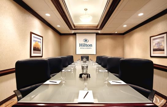 Conference room Hilton Durham near Duke University