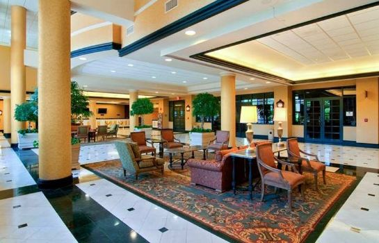 Lobby Hilton New Orleans Airport