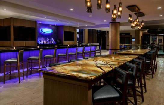 Hotel-Bar Hilton Charlotte University Place NC