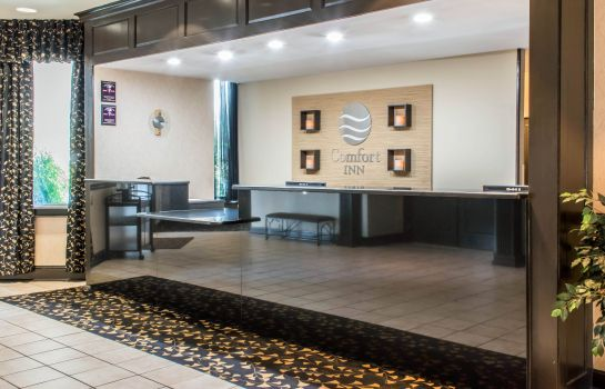 Lobby Comfort Inn Lancaster County North