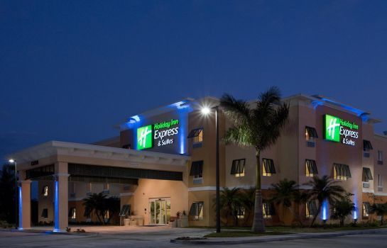 Buitenaanzicht Holiday Inn Express & Suites MARATHON