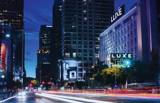 Exterior view LUXE CITY CENTER HOTEL