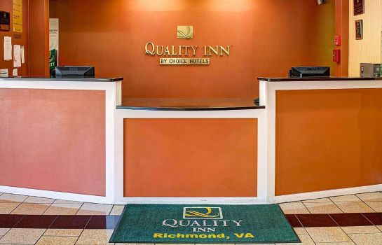 Hol hotelowy Quality Inn North