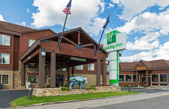 Außenansicht Holiday Inn WEST YELLOWSTONE