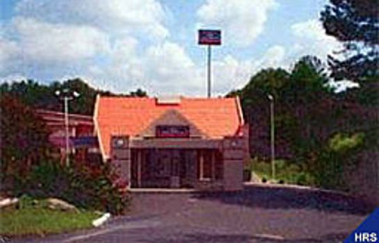 Buitenaanzicht Howard Johnson Inn - Durham