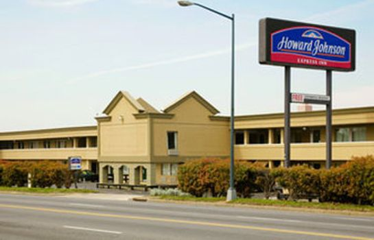 Außenansicht HOWARD JOHNSON INN WASHINGTON
