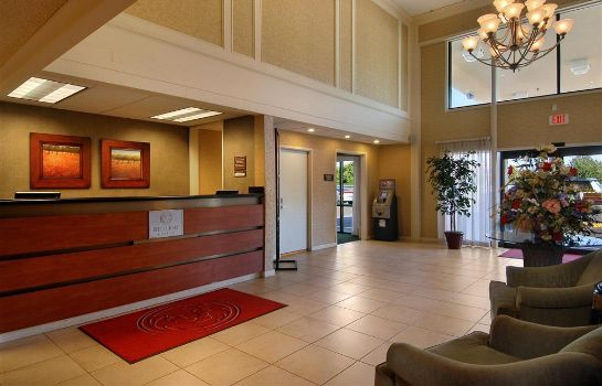 Hotelhalle RED LION PORTLAND AIRPORT