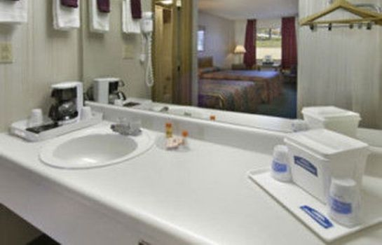 Bagno in camera Express Inn