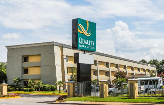 Vista esterna Quality Inn & Suites Atlanta Airport South