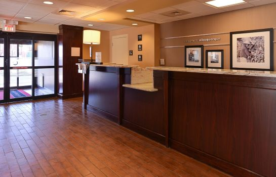 Lobby Hampton Inn Albuquerque University-Midtown -UNM-
