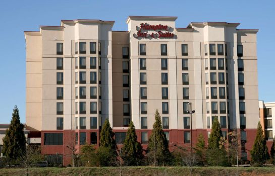 Vista exterior Hampton Inn - Suites Atlanta Airport North I85