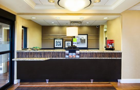 Hotelhalle Hampton Inn - Suites Atlanta Airport North I85