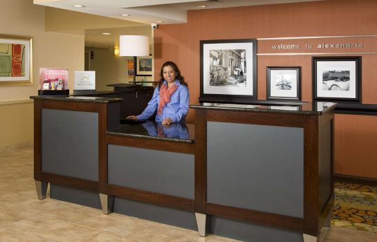 Hotelhalle Hampton Inn Alexandria-Pentagon South VA