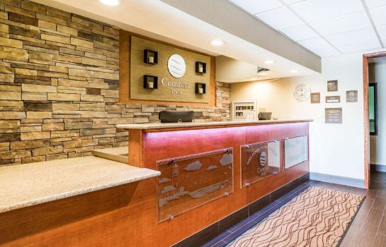 Lobby Comfort Inn Wings Stadium Comfort Inn Wings Stadium