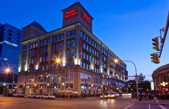 Buitenaanzicht Hampton Inn - Suites Buffalo-Downtown