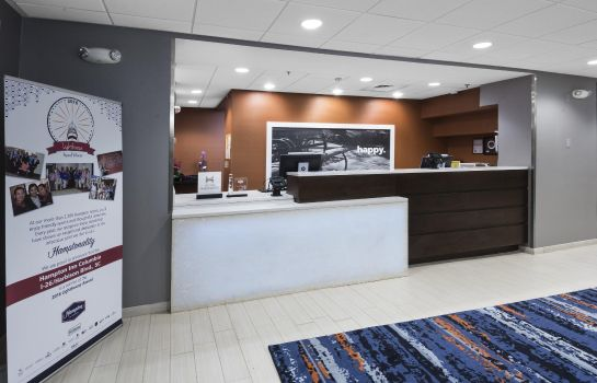 Hall de l'hôtel Hampton Inn Columbia-I-26 Harbison Blvd