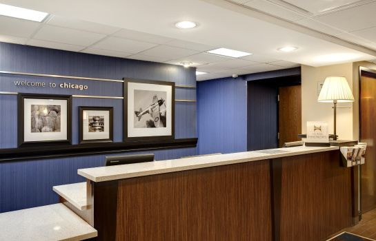 Hotelhalle Hampton Inn Chicago-O*Hare Intl Airport