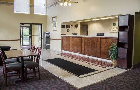 Hotelhalle Econo Lodge Wickliffe - Cleveland East