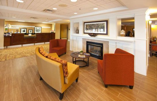 Lobby Hampton Inn Columbus North
