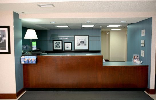 Lobby Hampton Inn Cincinnati-Eastgate Hampton Inn Cincinnati-Eastgate