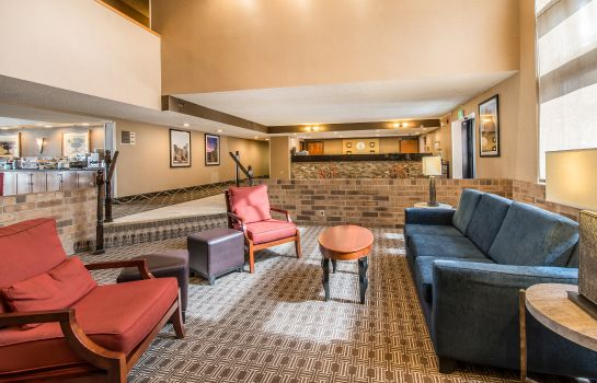 Lobby Comfort Inn & Suites Denver