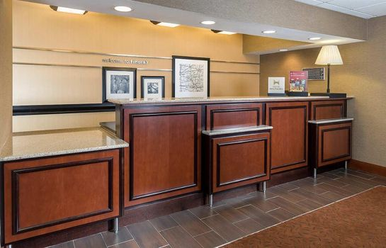 Lobby Hampton Inn Findlay