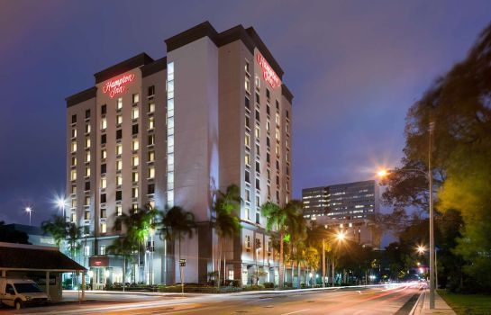 Außenansicht Hampton Inn Ft Lauderdale-Downtown Las Olas Area FL