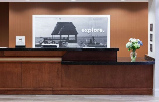 Hotelhalle Hampton Inn Ft Lauderdale-Downtown Las Olas Area FL