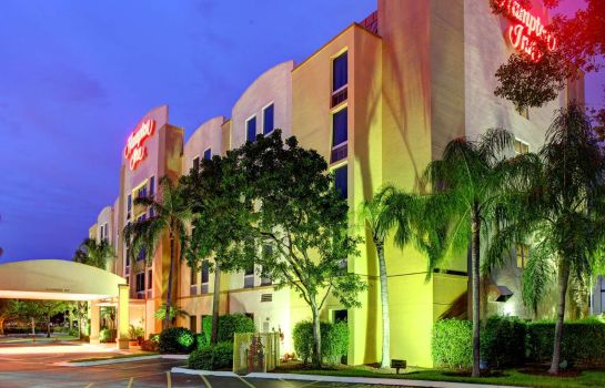 Exterior view Hampton Inn FtLauderdale-Pembroke Pines-Weston