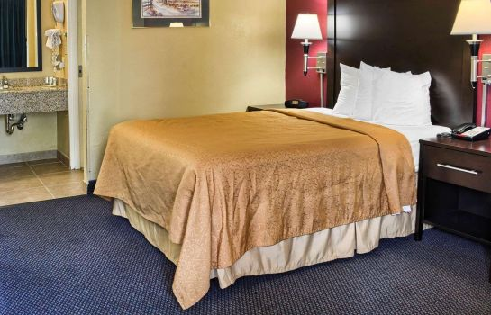 Pokój Central Park Area Quality Inn Fredericksburg