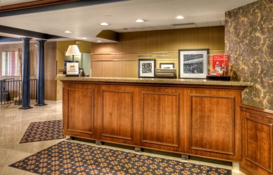 Hall de l'hôtel Hampton Inn Greensburg