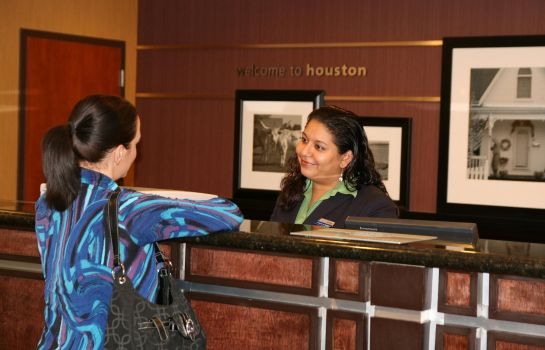 Hall de l'hôtel Hampton Inn - Suites Houston-Cypress Station