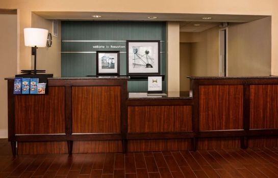 Hotelhalle Hampton Inn - Suites Houston-Medical Ctr-Reliant Park