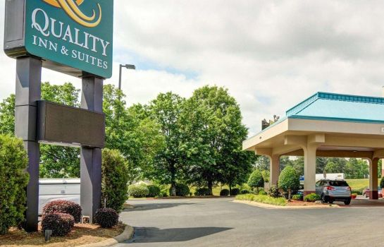 Vista esterna Quality Inn & Suites Little Rock