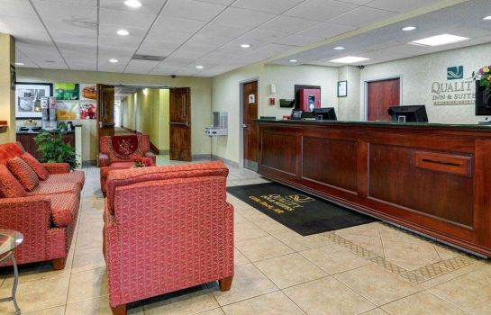 Lobby Quality Inn & Suites Little Rock