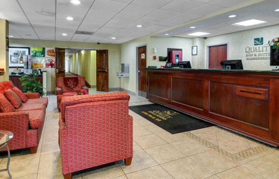 Hall de l'hôtel Quality Inn & Suites Little Rock