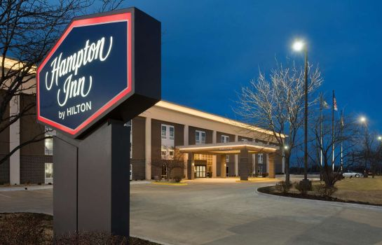 Buitenaanzicht Hampton Inn Lawrence KS