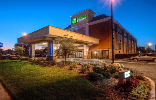 Buitenaanzicht Holiday Inn Express MEMPHIS MEDICAL CENTER MIDTOWN