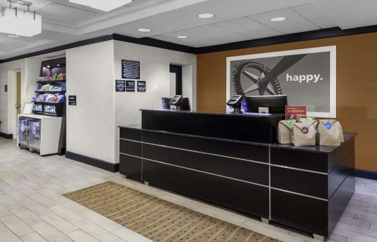 Hall de l'hôtel Hampton Inn Miami-Dadeland