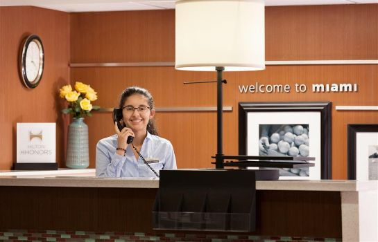 Hotelhal Hampton Inn Miami-Airport/West