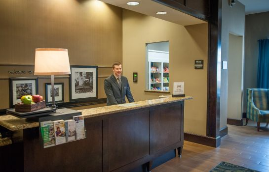 Hall de l'hôtel Hampton Inn - Suites New Orleans-Elmwood-Clearview Pkway LA