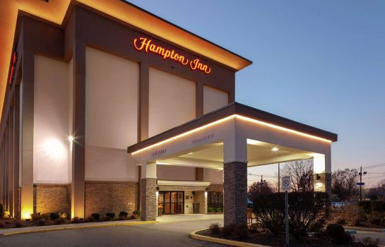 Außenansicht Hampton Inn Newark-Airport NJ