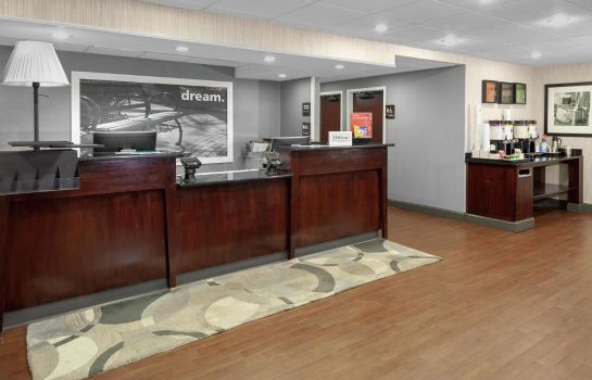 Hotelhalle Hampton Inn Newark-Airport NJ