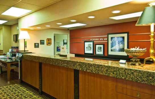 Hotelhalle Hampton Inn Oklahoma City-Northwest