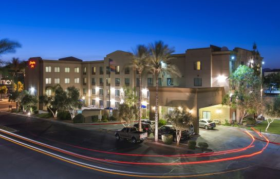 Außenansicht Hampton Inn Phoenix Airport North
